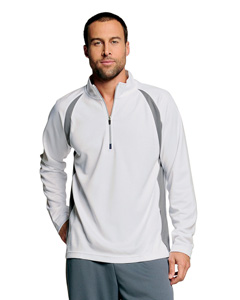 Men's  5 oz. Long-Sleeve Half-Zip Pullover