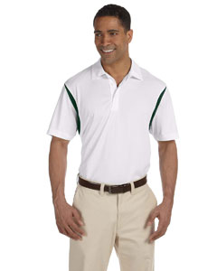 Men's  Back Blocked Micro-Pique Polo