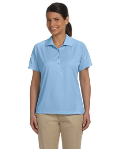 Ladies  3.8 oz. Polytech Mesh Insert Polo