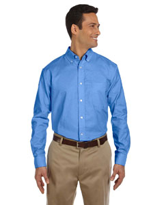 Men's  Long-Sleeve Oxford with Stain-Release