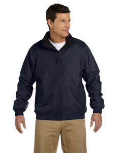 Fleece-Lined Nylon Jacket