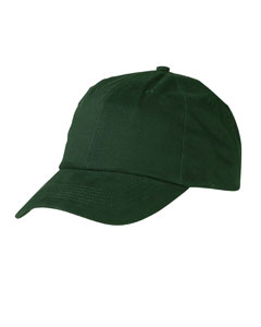 Youth  5-Pane`Brushed Twil`Cap