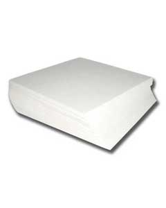 Medium Weight Cutaway Backing - White