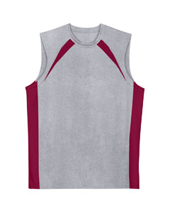 Adult Colorblock Performance Muscle Tee