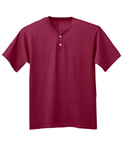 Adult A4 Tek 2-Button Henley