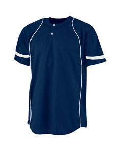Adult 2-Button Power Mesh Basebal`Top