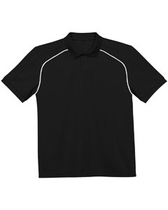 Adult Piped Moisture Management Polo