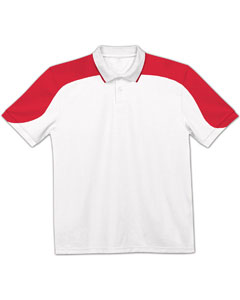 Adult Open Sleeve Colorblock Moisture Management Polo