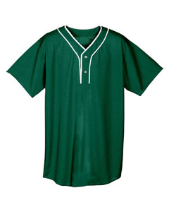 Adult 2-Button Stretch Mesh Basebal`Top