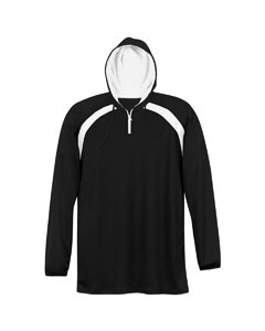 Adult Quarter-Zip Pullover Hood