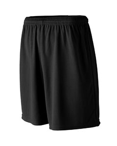 Adult Nine Inch Inseam Power Mesh Coaches Short