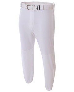 Adult Double Play Polyester Baseball Pant with Elastic Waist and