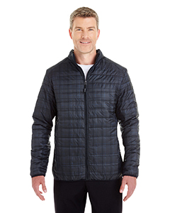 Men's Portable Interactive Printed Packable Puffer