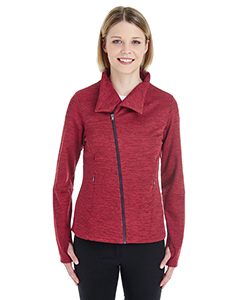 Ladies' Amplify Melange Fleece Jacket