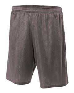 Adult Nine Inch Inseam Utility Mesh Short