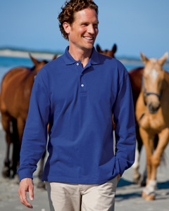 7 oz. Ultimate Long-Sleeve Polo