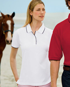 Ladies  7 oz. Ultimate Fashion Polo