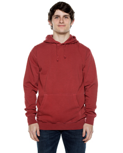 Unisex 8.25 oz. 80/20 Cotton/Poly Pigment-Dyed Hooded Sweatshirt