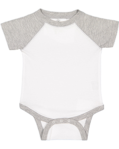 Infant Vintage Fine Jersey Basebal`Bodysuit