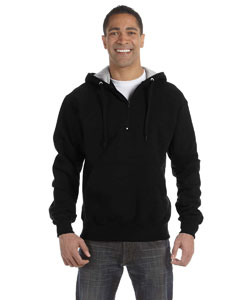 9.7 oz. 90/10 Cotton Max Quarter-Zip Hood