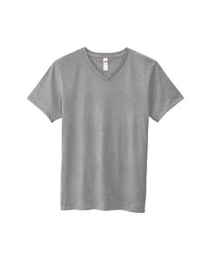 4.7 oz. 100% Sofspun™ Cotton Jersey V-Neck T-Shirt