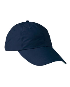 6-Pane`Low-Profile Cap with Elongated Bill