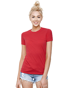 Ladies' Cotton Crew Neck T-Shirt