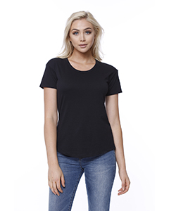 Ladies' CVC Melrose High Low T-Shirt