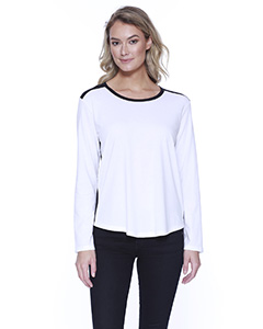 Ladies' CVC Melrose Long-Sleeve T-Shirt
