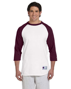 6.1 oz. Tagless Raglan Basebal`T-Shirt