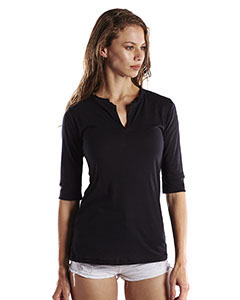 Ladies' Elbow Sleeve Footie Tee