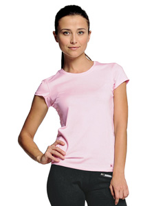 Ladies  6.1 oz. Mesh Back Performance T-Shirt