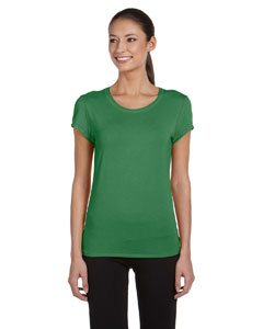 Ladies  5.5 oz. Short-Sleeve Bamboo T-Shirt
