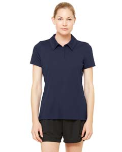 Ladies Performance Three-Button Polo