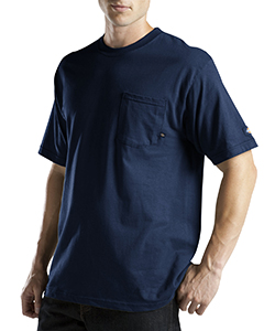 6 oz. Short-Sleeve Pocket T-Shirt with Wicking