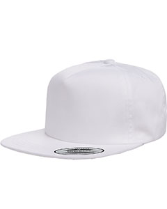 Adult Unstructured 5-Panel Snapback Cap