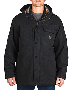 Men's Workwear Hooded Parka with Kevlar