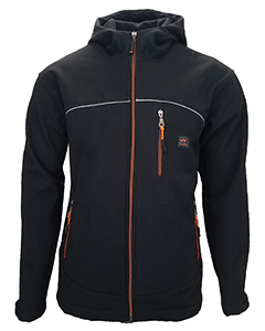 Men's Storm Protector Hooded Solid Softshell Jacket